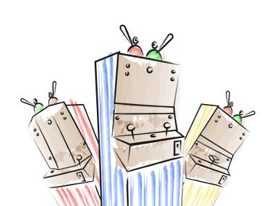 Ilustracio Teatrets mecanics Peus de porc